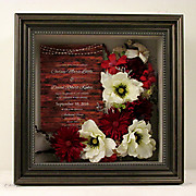 Red & White Preserved Bouquet